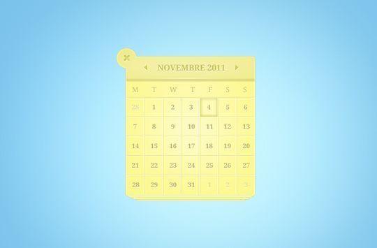 13 High Quality PSD Calendars 11