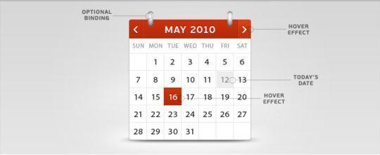 13 High Quality PSD Calendars 4