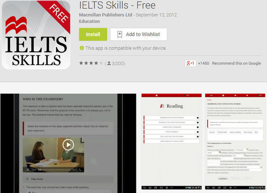 10 Free IELTS & GRE Preparation Android Apps 2