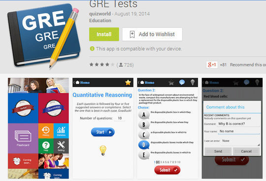 10 Free IELTS & GRE Preparation Android Apps 7