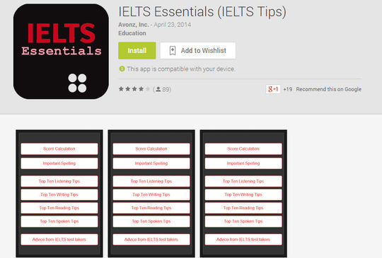 10 Free IELTS & GRE Preparation Android Apps 9