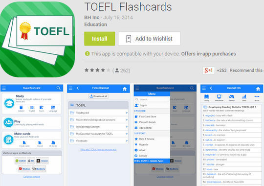 10 Free IELTS & GRE Preparation Android Apps 10