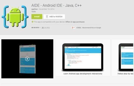 10 Free Code Editors For Android 5