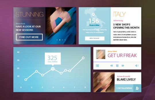 11 PSD UI Kits For Modern Ecommerce Website 38