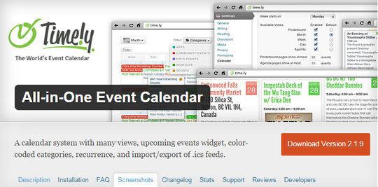 10 Wordpress Calendar Plugins 187