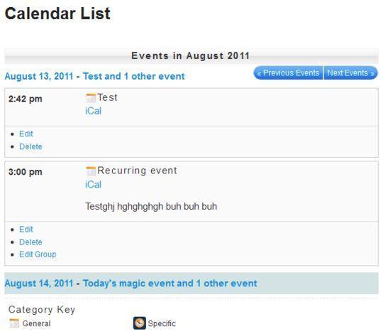 10 Wordpress Calendar Plugins 5