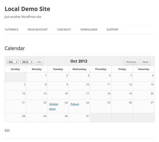 10 Wordpress Calendar Plugins 9