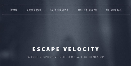 12 Fresh Free Templates In HTML/CSS & PSD 5