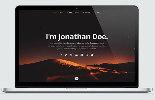 12 Fresh Free Templates In HTML/CSS & PSD 10