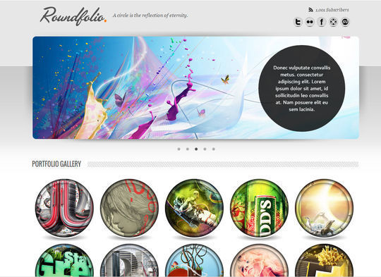 12 Fresh Free Templates In HTML/CSS & PSD 7