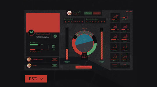 12 Fresh Free Templates In HTML/CSS & PSD 11