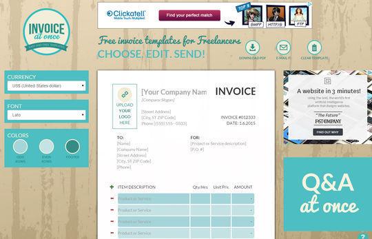 12 Best Free Invoice Generators 159