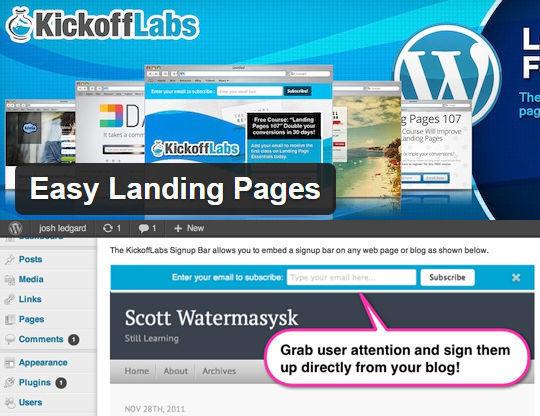10 Free Wordpress Plugins For Landing Pages 5
