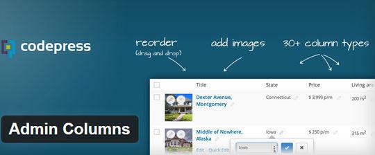 10 Admin Plugins for Wordpress 1