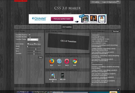 12 Best CSS Generators For UI Animations & Elements 12