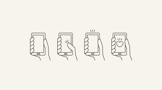 11 Free Mobile Gesture Icons Packs (PSD, AI, EPS) 115