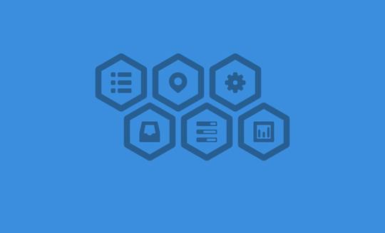 12 Free Hexagon Icon Sets & Photoshop Files 3