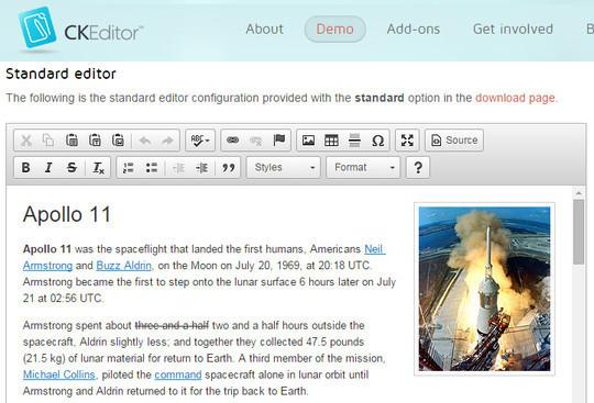 9 Free Javascript/jQuery WYSIWYG HTML Editors 5