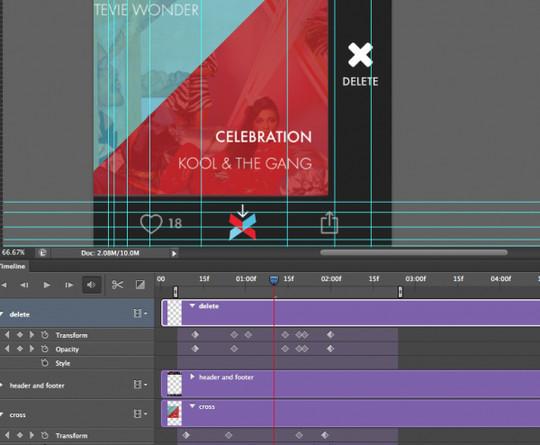 8 Photoshop UI Animation Tutorials 5