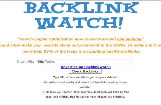 8 Online Backlinks Checker Tool 5
