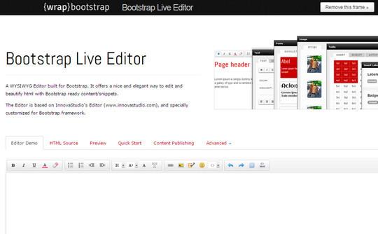 9 Essential Bootstrap Editors For Rapid Development 10