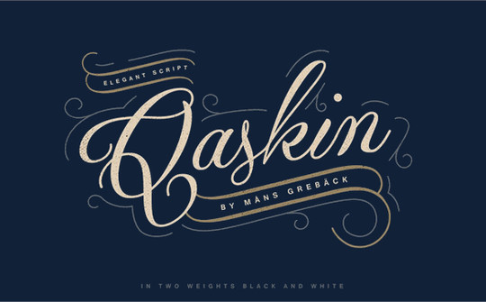 15 Fresh Calligraphy Fonts For Designers 26