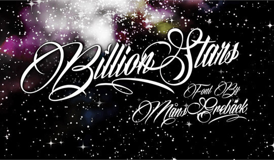 15 Fresh Calligraphy Fonts For Designers 3