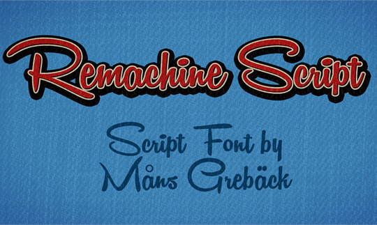 15 Fresh Calligraphy Fonts For Designers 7
