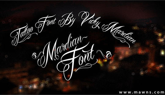 15 Fresh Calligraphy Fonts For Designers 9
