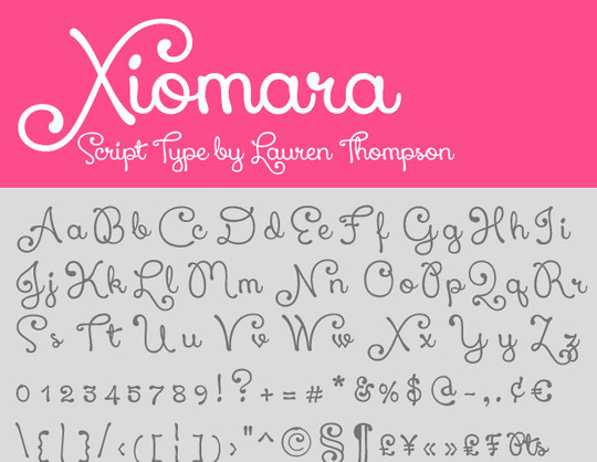 15 Fresh Calligraphy Fonts For Designers 14