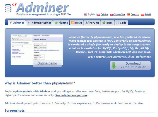 11 Database Administrator Tools For System Admins 3