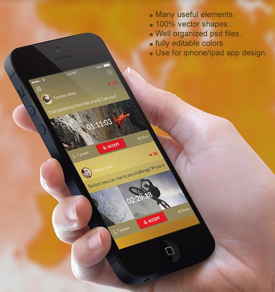 11 Free Mobile App Photoshop Templates 167