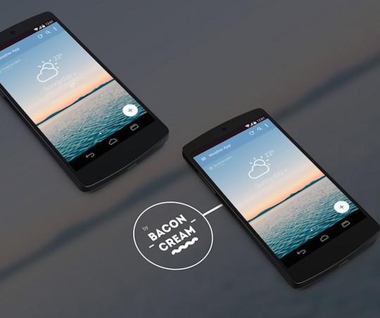11 Free Mobile App Photoshop Templates 10