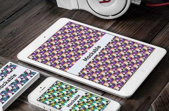 16 Free Mobile, Tablet & Laptop Mockups 13