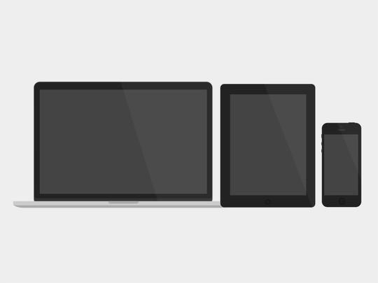 16 Free Mobile, Tablet & Laptop Mockups 17