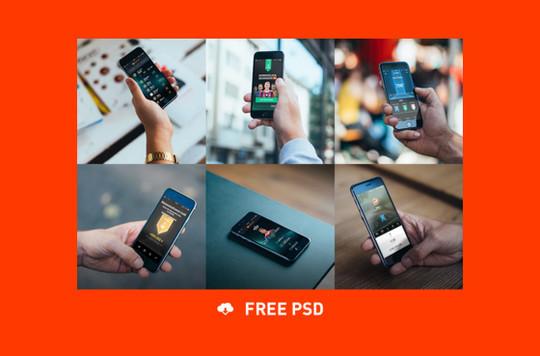 16 Free Mobile, Tablet & Laptop Mockups 9