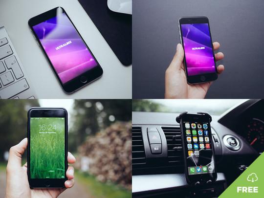 16 Free Mobile, Tablet & Laptop Mockups 12