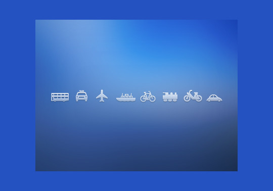 13 Tourism & Travel Icon Set For Free Download 11