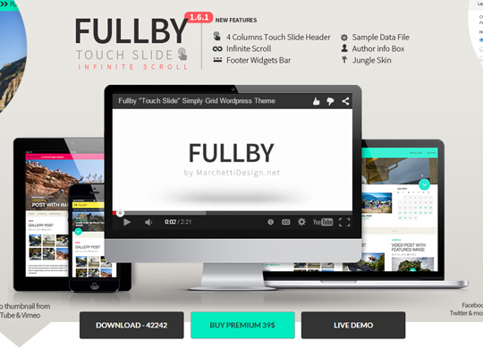 10 Free Responsive WordPress Themes From 2015 11