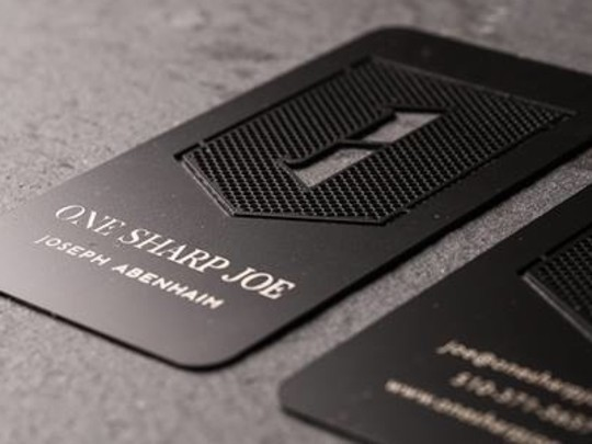 15 Unusually Creative Metal Business Cards 3