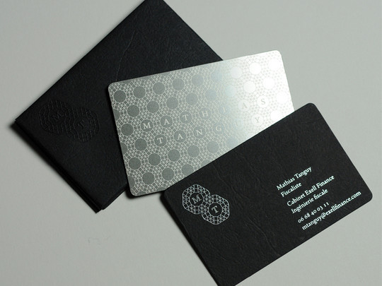15 Unusually Creative Metal Business Cards 7