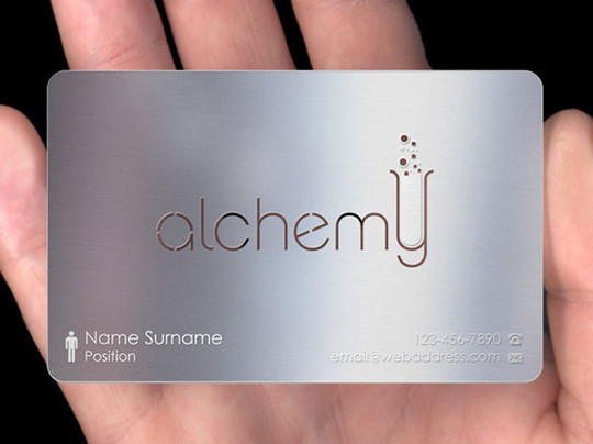 15 Unusually Creative Metal Business Cards 6