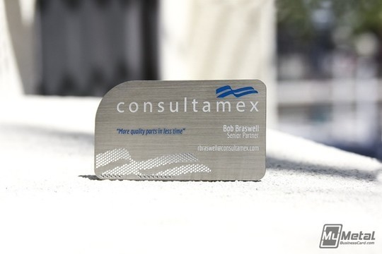 15 Unusually Creative Metal Business Cards 8