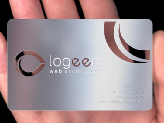 15 Unusually Creative Metal Business Cards 10