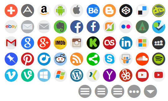 11 Useful & Free Icons Font For Web Designers 156