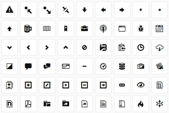 11 Useful & Free Icons Font For Web Designers 6