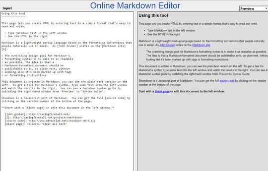 8 Free Online Markdown Editors 5