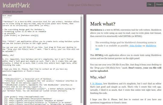8 Free Online Markdown Editors 9