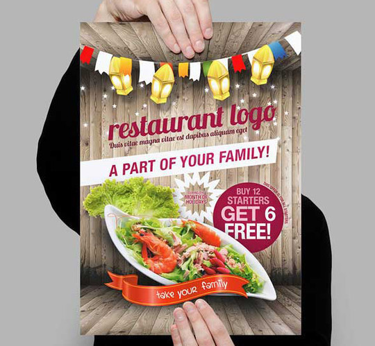 14 Best Print Ready PSD Flyer Templates For Free Download 12