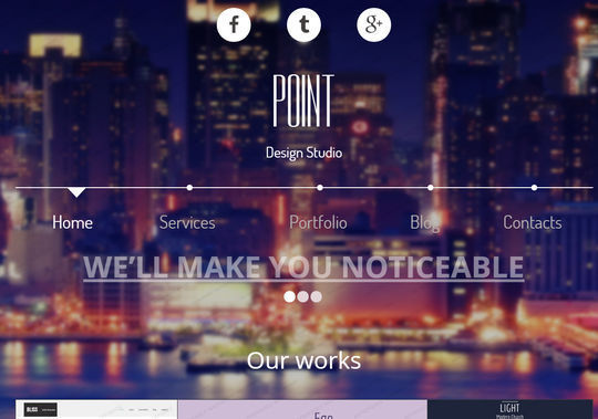 12 Free And Fresh HTML5 Web Templates 12